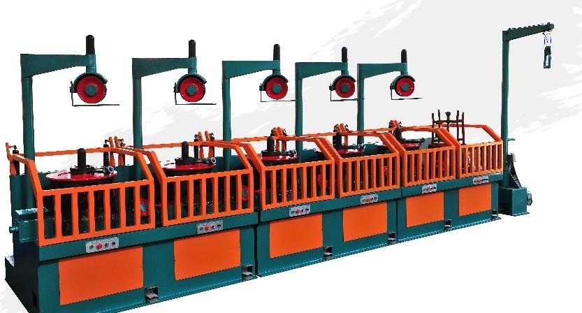 LWX1-550滑轮式拉丝机高速低噪音